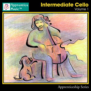 Click to view the Intermediate Cello Volume 1 track listing